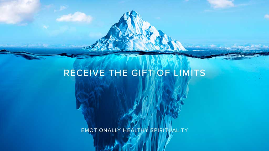 Receive the Gift of Limits