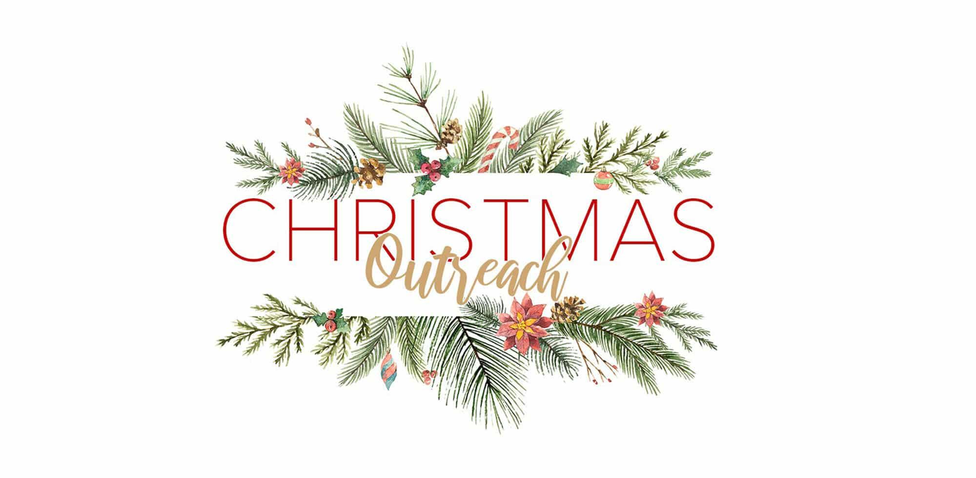 Christmas Outreach Banner